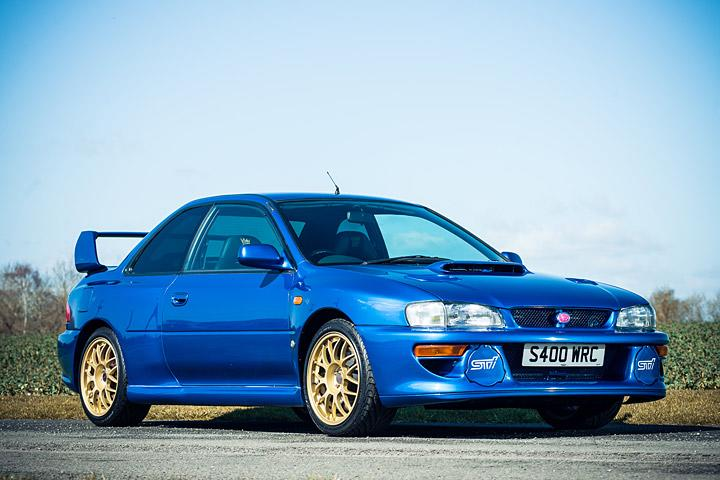 a holy grail subaru impreza 22b sti is up for sale. Black Bedroom Furniture Sets. Home Design Ideas