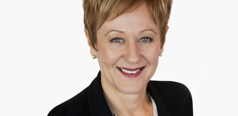 An image of Susan Channon, female CEO of Virtus Health.