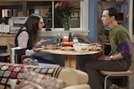 "<p>Amy Farrah Fowler: ""Are you honestly comparing going to Thanksgiving dinner at Mrs. Wolowitz's house to one of the worst tragedies in human history?""</p><p>Sheldon Cooper: ""Yes.""</p>"