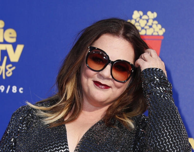 2019 MTV Movie and TV Awards - Arrivals – Santa Monica, California, U.S., June 15, 2019. Melissa McCarthy poses. REUTERS/Mike Blake