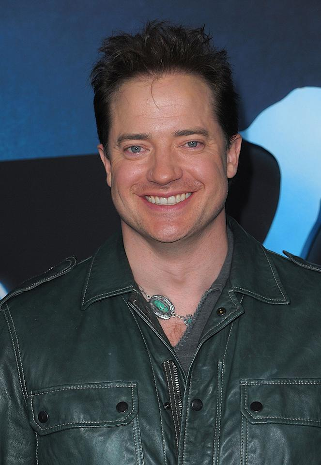 """<a href=""""http://movies.yahoo.com/movie/contributor/1800018729"""">Brendan Fraser</a> at the Los Angeles premiere of <a href=""""http://movies.yahoo.com/movie/1809804784/info"""">Avatar</a> - 12/16/2009"""