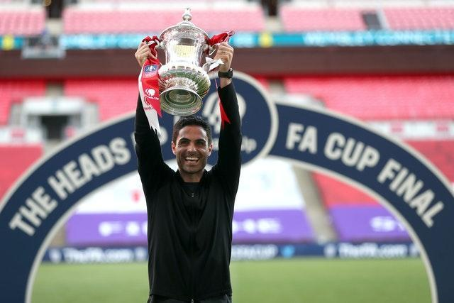 Arteta led Arsenal to a record 14th FA Cup with victory over Chelsea in August.
