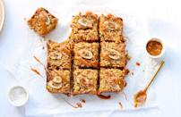 """<p>This gallery is filled with every <a href=""""https://www.delish.com/uk/cooking/recipes/a30268719/healthy-flapjack-recipe/"""" rel=""""nofollow noopener"""" target=""""_blank"""" data-ylk=""""slk:flapjack recipe"""" class=""""link rapid-noclick-resp"""">flapjack recipe</a> you could possibly need. <a href=""""https://www.delish.com/uk/cooking/recipes/a35487495/flapjack-recipe-honey/"""" rel=""""nofollow noopener"""" target=""""_blank"""" data-ylk=""""slk:Flapjack ingredients"""" class=""""link rapid-noclick-resp"""">Flapjack ingredients</a> are more than just oats and golden syrup. In fact, you can make so many different styles of the baked good we'd forgive you for only wanting to make flapjacks for the rest of your life. Oh, and do we mention we made sure all of them were a super <a href=""""https://www.delish.com/uk/cooking/recipes/a35487496/banana-flapjack/"""" rel=""""nofollow noopener"""" target=""""_blank"""" data-ylk=""""slk:easy flapjack"""" class=""""link rapid-noclick-resp"""">easy flapjack</a> recipe? Yup, thank us later! So, whether you're after a <a href=""""https://www.delish.com/uk/cooking/recipes/g30270610/healthy-flapjacks/"""" rel=""""nofollow noopener"""" target=""""_blank"""" data-ylk=""""slk:healthy flapjack"""" class=""""link rapid-noclick-resp"""">healthy flapjack</a> like our bircher version, or a decadent <a href=""""https://www.delish.com/uk/cooking/recipes/a35487497/chocolate-flapjack/"""" rel=""""nofollow noopener"""" target=""""_blank"""" data-ylk=""""slk:chocolate flapjack"""" class=""""link rapid-noclick-resp"""">chocolate flapjack</a> (or anything in between), we have you covered! </p>"""