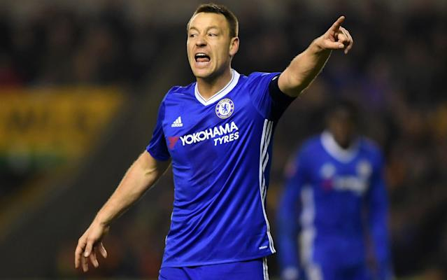 John Terry will leave Chelsea after 22 years with the club - 2017 Getty Images