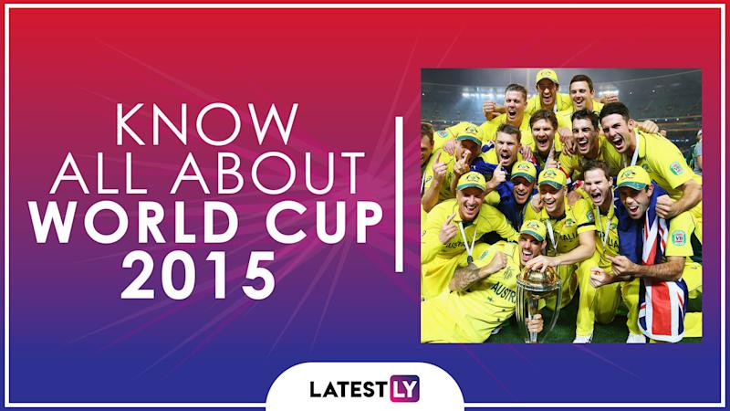 Know All About 2015 Cricket World Cup: History, Participants and Winner of the 11th Edition of World Cup