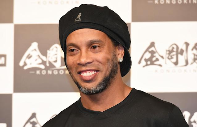 Ronaldinho will be marrying both of his girlfriends at the same time in an August ceremony in Rio de Janeiro. (Getty)