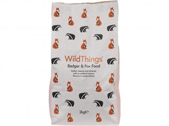 Bigger animals like foxes and badgers need help with food too, so pick up this big bag (Amazon)
