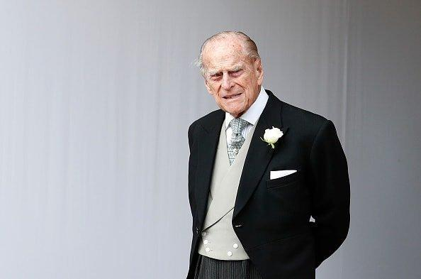 """<div class=""""inline-image__caption""""><p>Prince Philip, Duke of Edinburgh attends the wedding of Princess Eugenie of York to Jack Brooksbank at St. George's Chapel on October 12, 2018 in Windsor, England.</p></div> <div class=""""inline-image__credit"""">Alastair Grant - WPA Pool/Getty Images</div>"""