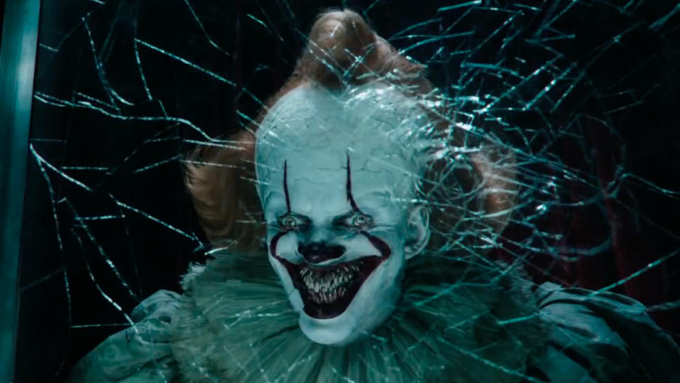 One of the most highly anticipated horror movies of the last few years, Andy Muschietti directs the second half of Stephen King's doorstop novel with epic scale. Bill Skarsgård remains terrifying as Pennywise the Dancing Clown and the new ensemble is a feat of casting, with Bill Hader and Jessica Chastain the standout new additions. (Credit: Warner Bros)