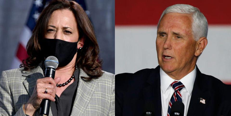 Kamala Harris and Mike Pence Will Be Separated By Plexiglass During Their Debate