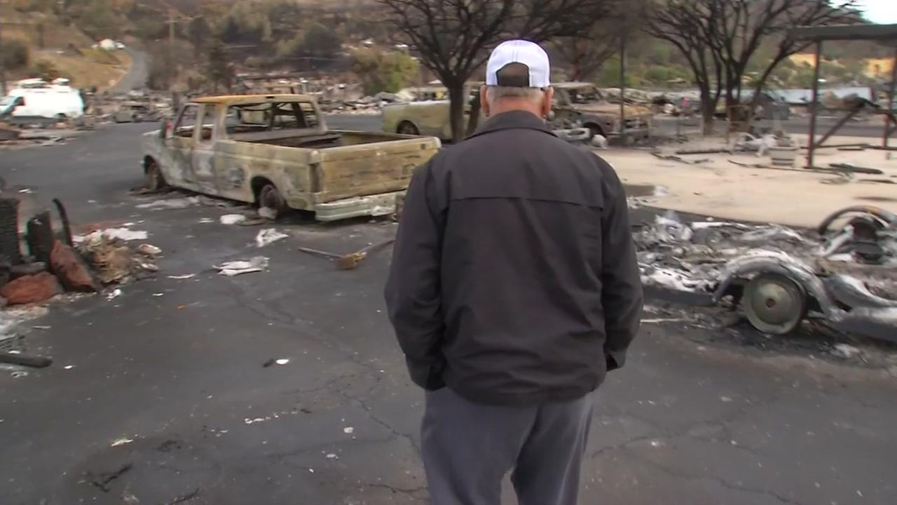 The stories of heroism and narrow escapes continue to pour in from the devastating North Bay fires. Our next story comes from the North Shore of Clear Lake, where more than 150 homes were destroyed by the fast-moving Sulphur fire. The fire is out, but the traumatic memories will live on.