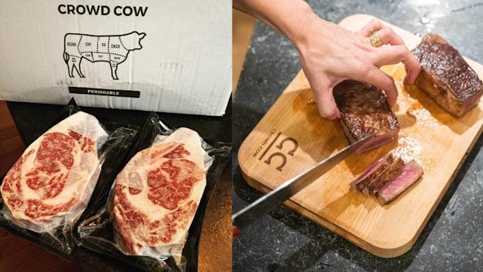 Best kitchen gifts: Crowd Cow Meat Subscription Box