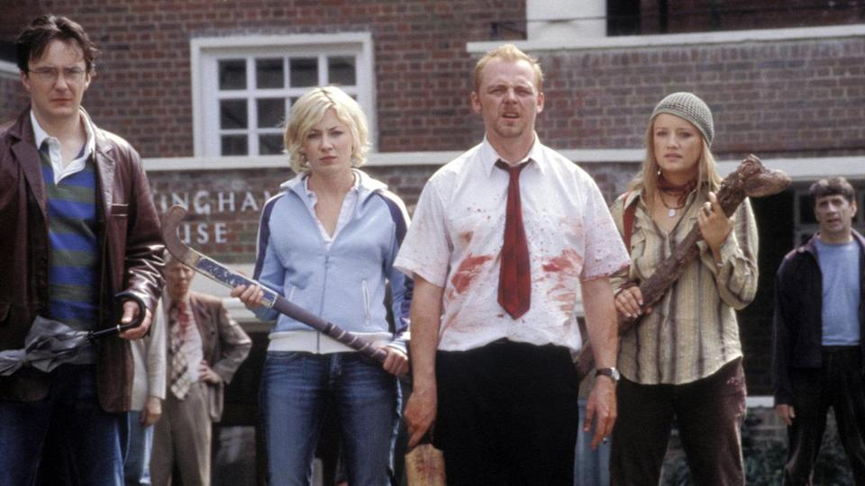 <p> <strong>UK: </strong>Amazon Prime Video (rent or buy) </p> <p> <strong>US:</strong> Staz </p> <p> Simon Pegg's zombie comedy pays homage to the genre as much as it mocks it. Shaun's life had begun to fall apart way before his neighbours started to eat flesh, and the movie follows him as he literally fights to put his life back on track. </p>
