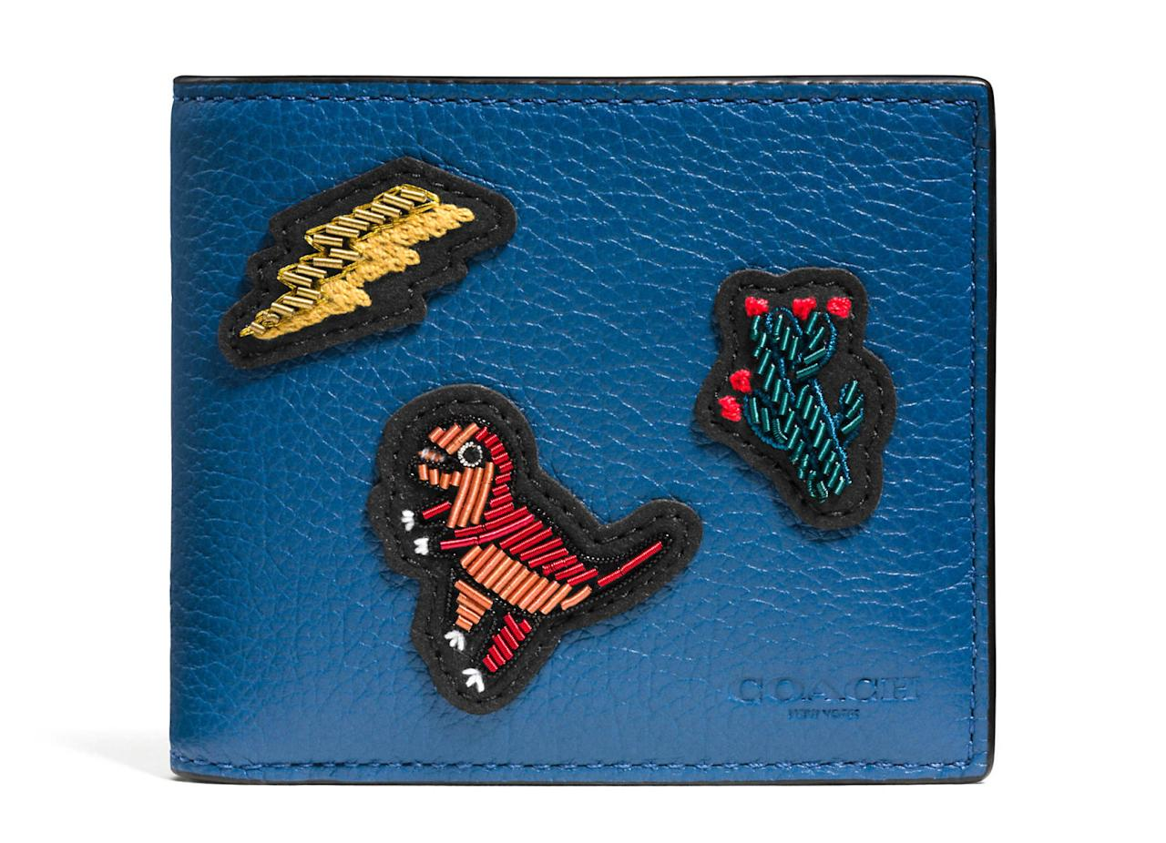 """<p>3-in-1 Wallet in Grain Leather With Patches, $250, <a rel=""""nofollow"""" href=""""http://www.coach.com/coach-3-in-1-wallet-in-grain-leather-with-patches/58029.html"""">coach.com</a>.<span></span></p>"""