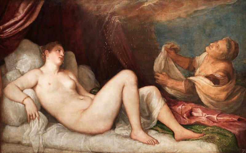 The exhibition Titian: Love, Desire, Death, featuring the Danae (c1554-6), has been extended - Wellington