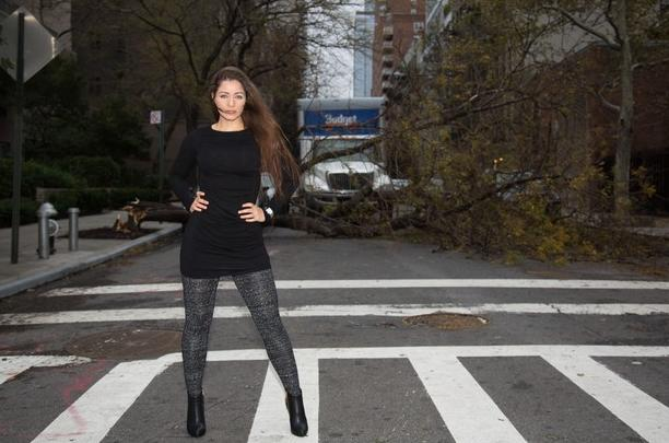 Outrage Over Model S Post Sandy Photo Shoot In Wreckage
