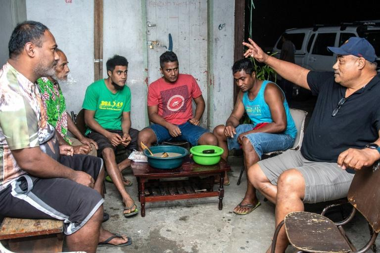 Kava is ubiquitous in all layers of Fijian society -- visiting dignitaries such as Britain's Prince Harry sup at ceremonies alongside chiefs, while in rural villages groups of men can often be seen sharing a bowl
