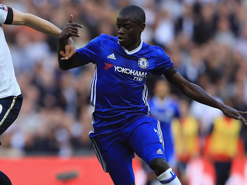 Kante is on the brink of a second consecutive league title (Getty)