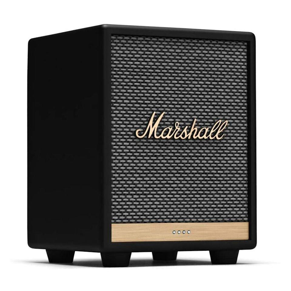 "<p><strong>Marshall</strong></p><p>marshallheadphones.com</p><p><strong>$199.99</strong></p><p><a href=""https://go.redirectingat.com?id=74968X1596630&url=https%3A%2F%2Fwww.marshallheadphones.com%2Fus%2Fen%2Fuxbridge-alexa.html&sref=https%3A%2F%2Fwww.bestproducts.com%2Ftech%2Fgadgets%2Fg293%2Fbest-tech-gifts-at-every-price%2F"" rel=""nofollow noopener"" target=""_blank"" data-ylk=""slk:Shop Now"" class=""link rapid-noclick-resp"">Shop Now</a></p><p>The Marshall Uxbridge smart speaker has been inspired by the company's legendary amps, so it's a great gift for any audiophile. The controls of the speaker include a trio of rocker buttons for adjusting the volume, the bass, and treble. The Wi-Fi-connected speaker has support for Apple AirPlay 2, Google Chromecast, and Bluetooth wireless connectivity.</p><p>The sound quality of the Uxbridge is excellent. Marshall has equipped the product with a woofer, a tweeter, and an amplifier. Combined, they deliver an immersive audio experience that's among <a href=""https://www.bestproducts.com/tech/gadgets/g3467/smart-speakers-alexa-google-assistant-cortana/"" rel=""nofollow noopener"" target=""_blank"" data-ylk=""slk:the product category's best"" class=""link rapid-noclick-resp"">the product category's best</a>.</p><p>This version of the speaker is powered by Amazon Alexa. An <a href=""https://go.redirectingat.com?id=74968X1596630&url=https%3A%2F%2Fwww.marshallheadphones.com%2Fus%2Fen%2Fuxbridge-google.html&sref=https%3A%2F%2Fwww.bestproducts.com%2Ftech%2Fgadgets%2Fg293%2Fbest-tech-gifts-at-every-price%2F"" rel=""nofollow noopener"" target=""_blank"" data-ylk=""slk:Uxbridge variant with the Google Assistant on board"" class=""link rapid-noclick-resp"">Uxbridge variant with the Google Assistant on board</a> is also available.</p>"