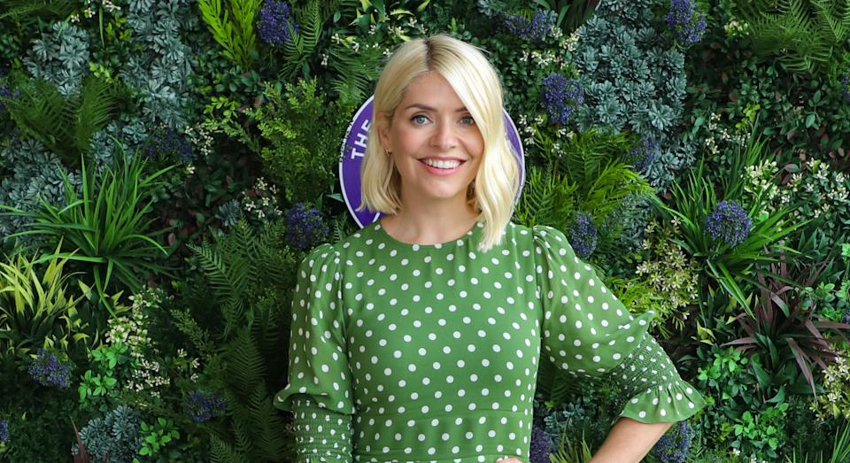 Holly Willoughby's fans are loving her latest stylish look. (Getty Images)
