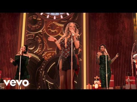 "<p>Mariah Carey enlisted the help of Ariana Grande and Jennifer Hudson for a 2020 reworking of her 2010 hit, 'Oh Santa'. Just listen to the harmonies.</p><p><a href=""https://www.youtube.com/watch?v=G2bx3FzgJ6o"" rel=""nofollow noopener"" target=""_blank"" data-ylk=""slk:See the original post on Youtube"" class=""link rapid-noclick-resp"">See the original post on Youtube</a></p>"