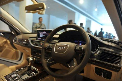 """""""Obviously for India, the horn is a category in itself,"""" says Michael Perschke, director at Audi India"""