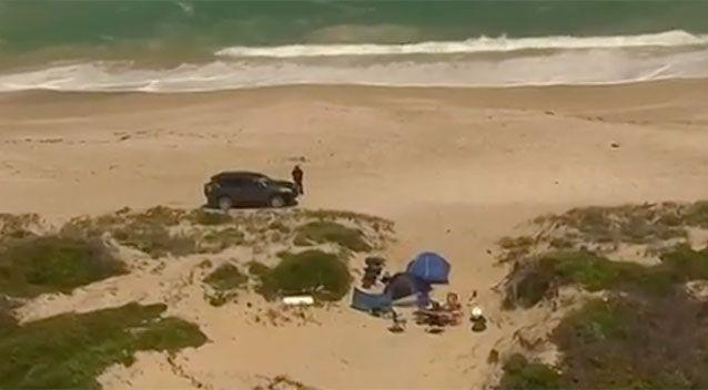 The backpackers were attacked at Salt Creek. Source: 7 News