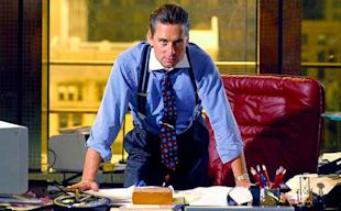 Michael Douglas' character 'Gordon Gekko' from Oliver Stone's film 'Wall Street.'
