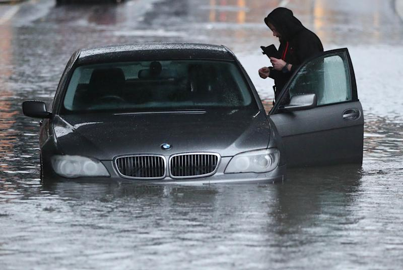 UK Flooding: Parts Of South Yorkshire Underwater As 'Near Biblical' Rainfall Continues