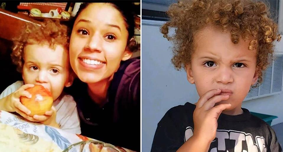 Leila Cavett has been missing for weeks, after her two-year-old son was found walking around alone in Florida. Source: Miramar Police Department (Official)/Facebook