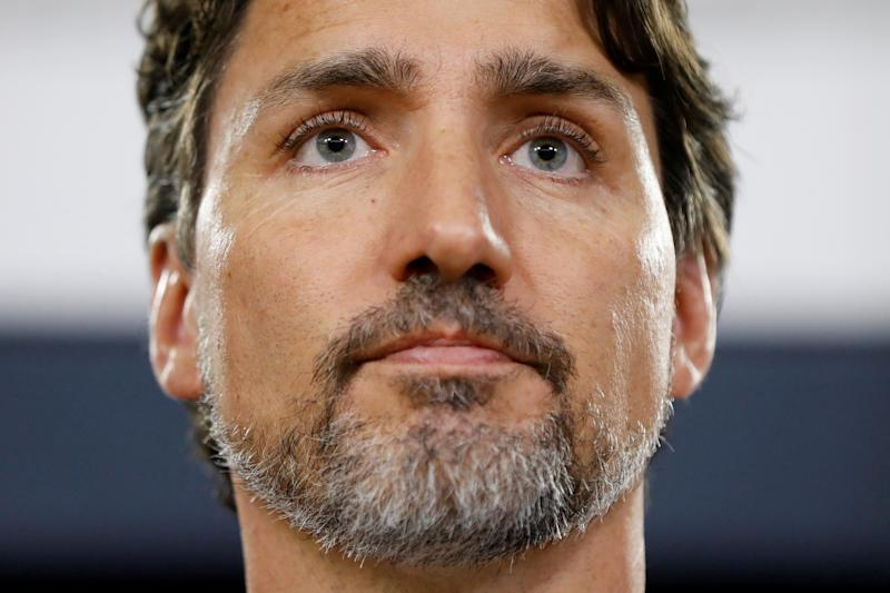 Canada's Prime Minister Justin Trudeau takes part in a news conference in Ottawa, Ontario, Canada January 11, 2020. REUTERS/Blair Gable TPX IMAGES OF THE DAY