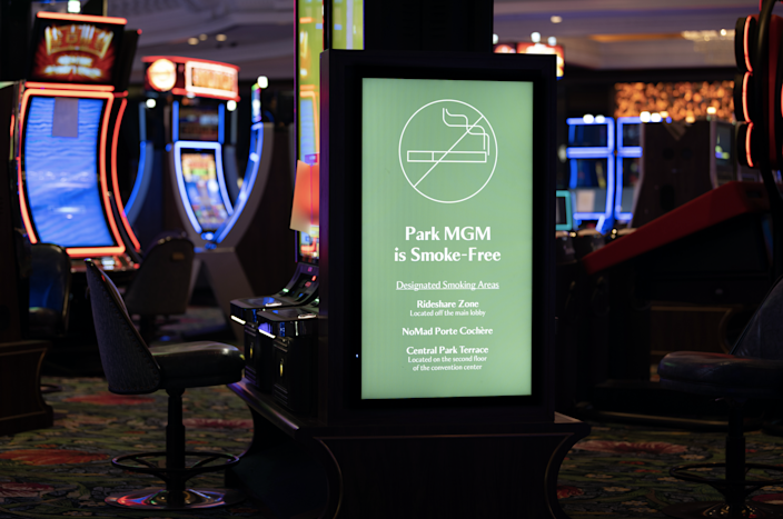 The Park MGM reopens Sept. 30 as the Las Vegas Strip's only smoke-free hotel-casino.