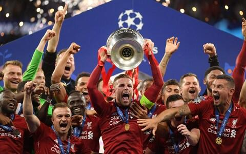 Jordan Henderson of Liverpool lifts the Champions League Trophy after after winning the UEFA Champions League Final between Tottenham Hotspur and Liverpool at Estadio Wanda Metropolitano on June 01, 2019 in Madrid, Spain - Credit: Getty Images