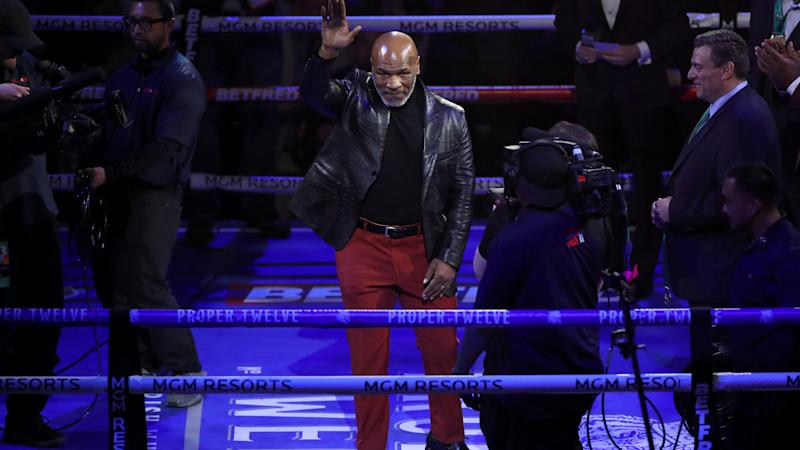Mike Tyson's comeback fight against Roy Jones Jr postponed until November 28