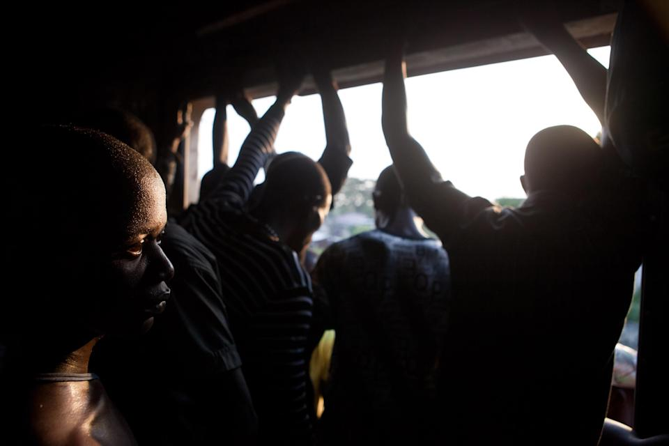 The rise in the use of trains caused HIV to spread more easily, researchers believe (AFP Photo/Gwenn Dubourthoumieu)