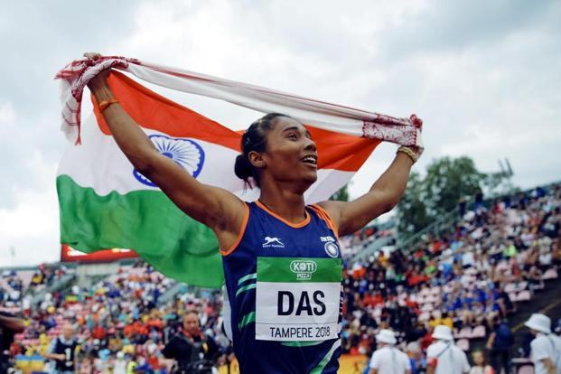The year Hima Das chased time