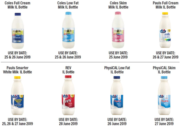 Lactalis Australia is recalling a number of milks sold in Victoria (pictured) over concerns they might contain cleaning solution. Source: Food Standards Australia New Zealand