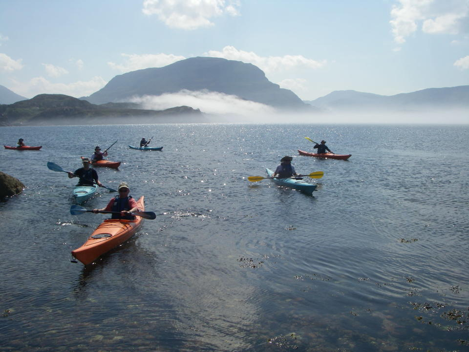 <p>Improve your paddling with a five-day introduction to sea kayaking with Wilderness Scotland. The course will enable you to hone your skills as you float through the beautiful waters of Upper Loch Torridon and the Applecross Peninsula, stopping for lunches on deserted beaches and looking out for seals along the way. From £775, including four nights' accommodation, most meals, guiding and equipment. Departs on selected dates between May and September 2018.<br><i>[Photo: Wilderness Scotland]</i> </p>