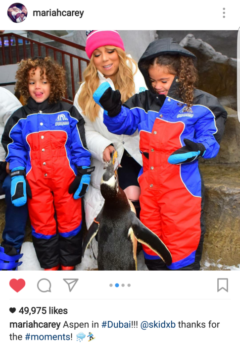 Mariah Carey Enjoys Playtime With Her Twins Monroe and ...