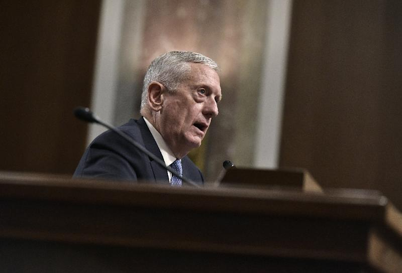 Trump's first action clears way for Mattis to run Pentagon