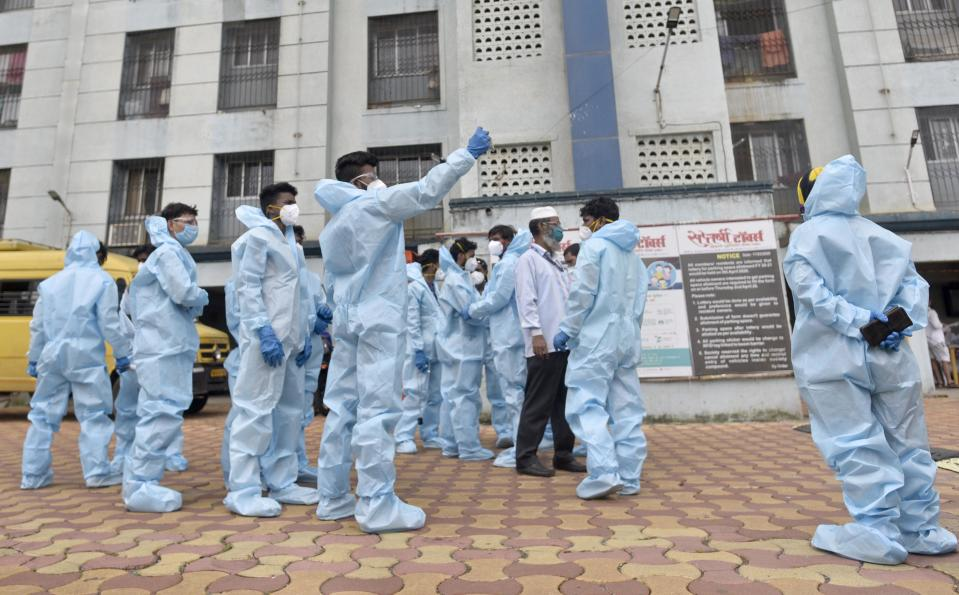India confirms 10,000 cases were recorded. Nation-wide lockdown extended till May 3.