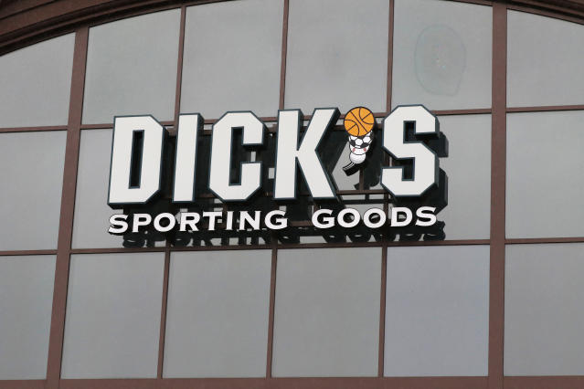 Earnings from Dick's Sporting Goods will be one of the biggest corporate highlights on Wednesday.  (AP Photo/Rogelio V. Solis, File)