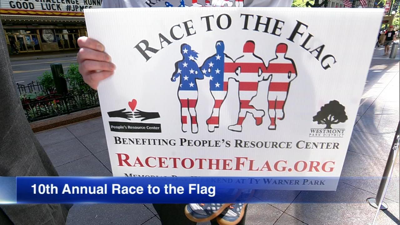 """""""Race to the Flag"""" is a 5K run/walk that will be held in Westmont Park this weekend."""
