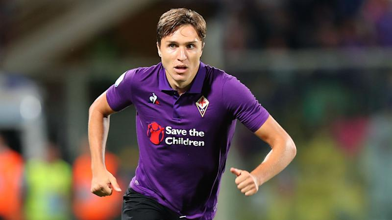Chelsea & Juventus target Chiesa focused and happy at Fiorentina
