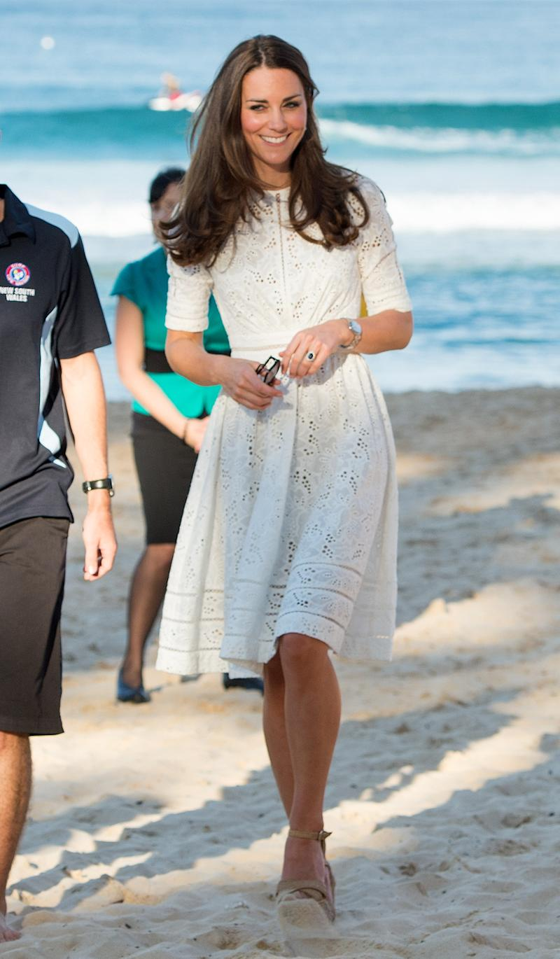 Kate Middleton gave her hair to The Little Princess Trust. (Photo: Getty)