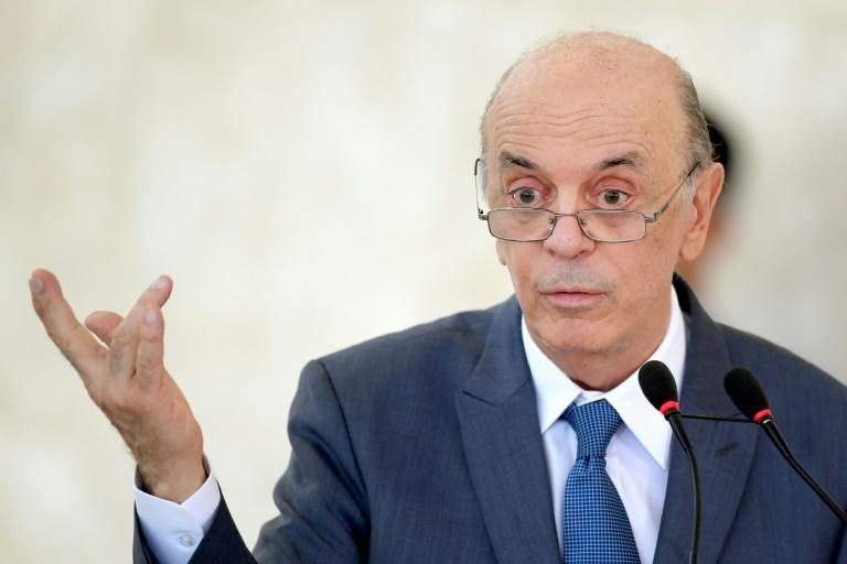 Brazil's foreign minister Serra resigns citing health reasons