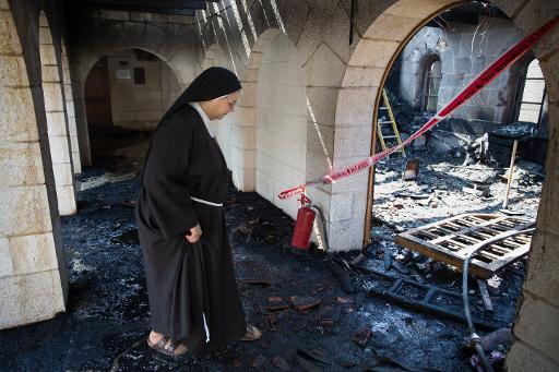 Israel arrests Jewish suspects over 'miracle' church arson