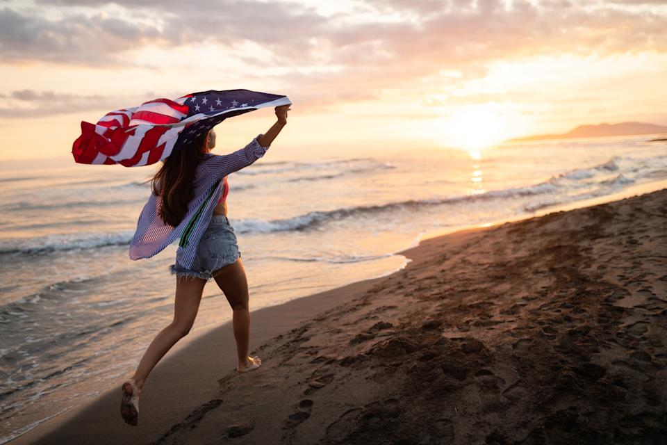 Many beaches are closing over the holiday weekend. If yours isn't, practice social distancing and avoid peak hours that draw crowds. (Photo: Getty Images stock photo)