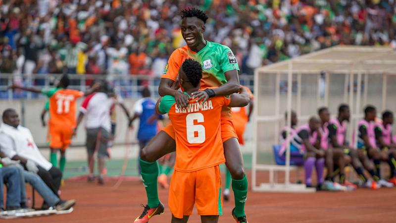 Jesse Were strikes for Zesco United in Caf Confederation Cup