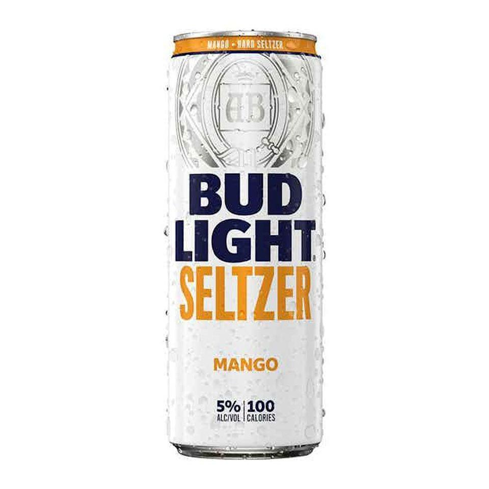 """<p>drizly.com</p><p><a href=""""https://go.redirectingat.com?id=74968X1596630&url=https%3A%2F%2Fdrizly.com%2Fbeer%2Fspecialty-beer-alternatives%2Fhard-seltzer%2Fbud-light-seltzer-mango%2Fp100566&sref=https%3A%2F%2Fwww.cosmopolitan.com%2Ffood-cocktails%2Fg36596713%2Fbest-hard-seltzers%2F"""" rel=""""nofollow noopener"""" target=""""_blank"""" data-ylk=""""slk:BUY IT HERE"""" class=""""link rapid-noclick-resp"""">BUY IT HERE</a></p><p>I'm impressed by how they were able to distill the essence of mango fragrance (raise the can, or better yet a glass, to your nose and you'll see what I mean). <br><strong><br>Crushability:</strong> 3.5<br><strong>Craveability: </strong>3.5<br><strong>Creativity:</strong> 2.5<strong><br>Overall:</strong> 9<br><strong><br>Calories:</strong> 100<br><strong>Sugar:</strong> <span><strong>ABV:</strong> 5%</span></p>"""